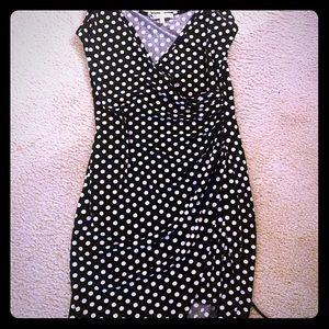 Blue & white strap pY dress